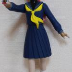 ソフビ人形サキ 黒正面