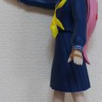 ソフビ人形サキ 黒左側面