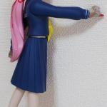 ソフビ人形サキ 赤右側面