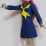 ソフビ人形サキ 赤正面寄り